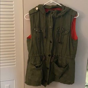 Other - Army green vest